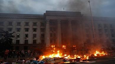 """Es éste mi pueblo?"""". Impactantes imágenes de la tragedia de Odesa - RT"""