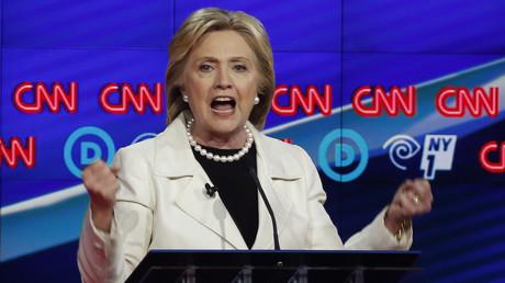 Hillary Clinton bei CNN, New York, USA, 14. April 2018.