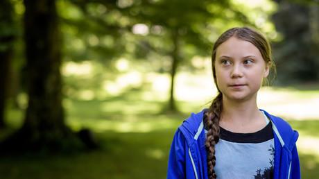 Schwarz oder Weiß: Greta Thunberg in der vergangenen Woche in der Schweiz