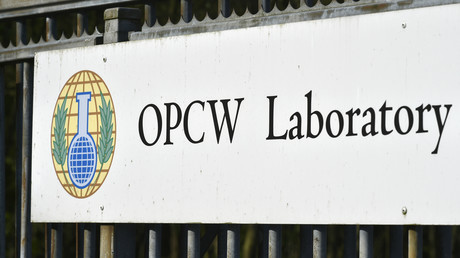 Sitz der Organisation für das Verbot chemischer Waffen (OPCW) im niederländischen Den Haag