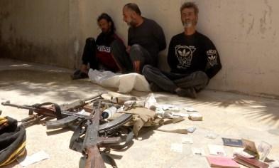 Terroristen aus Tanf in Syrien gestehen nach Festnahme Spionage, bestätigen Kontakt zum US-Militär