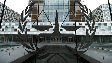 Das Gebäude des Internationalen Strafgerichtshofs in Den Haag