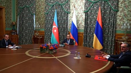 Armenia and Azerbaijan the ceasefire agreed in Nagorno-Karabakh