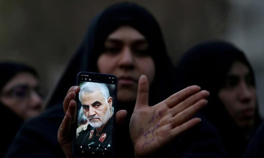 Ein Jahr nach Ermordung von General Soleimani: Tausende protestieren gegen USA