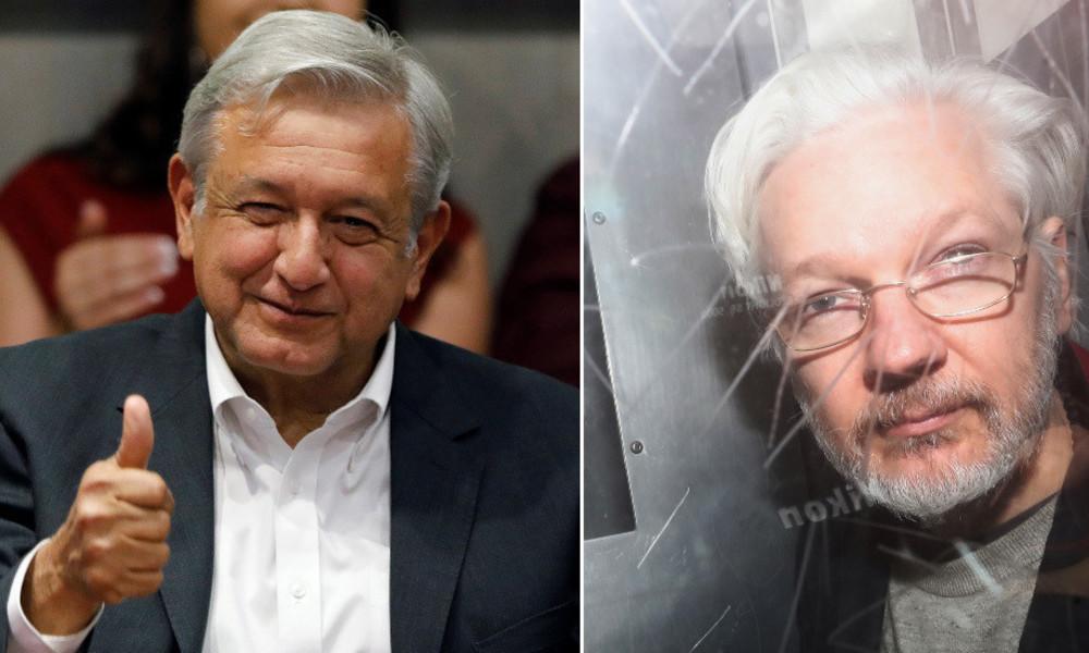 """""""Wir werden ihn schützen"""": Mexikanischer Präsident verspricht Julian Assange Asyl"""
