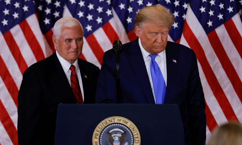 Medienberichte: US-Vize Mike Pence lehnt Amtsenthebung von Donald Trump ab