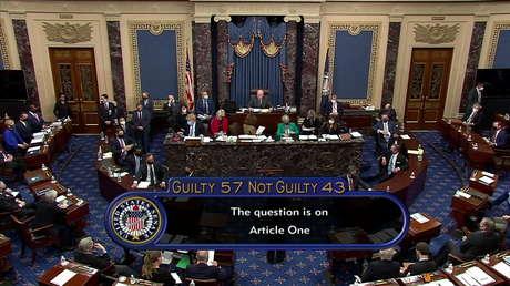 USA: Amtsenthebungsverfahren gegen Donald Trump scheitert im Senat