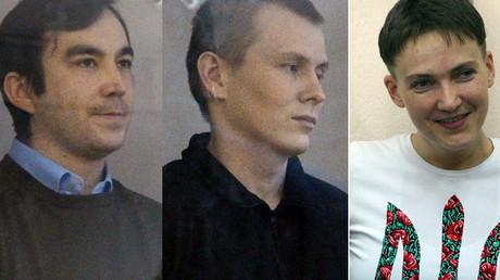 Evgeny Erofeev, Aleksandr Aleksandrov, Nadezhda Savchenko © Feodor Larin