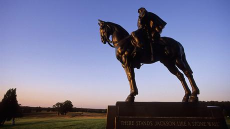 Stonewall Jackson Statue, Manassas National Battlefield Park, Manassas, Virginia, USA © Kenneth Garrett / Global Look Press