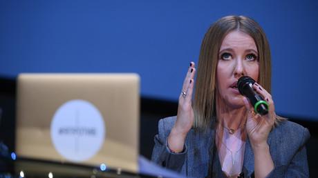 Television show host Ksenia Sobchak © Alexey Filippov