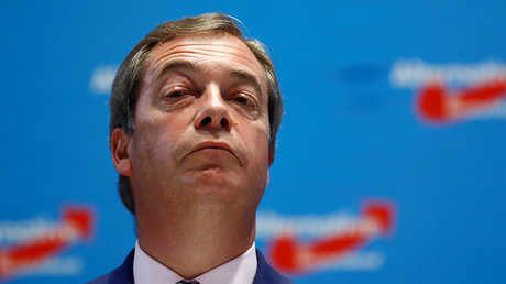 Nigel Farage, ex-leader of Britain's anti-EU UK Independence Party (UKIP). © Hannibal Hanschke