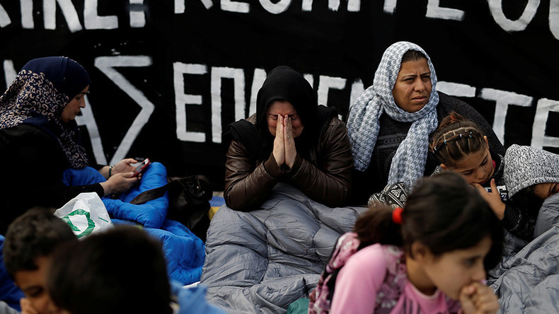 Refugees Launch Hunger Strike In Greece Demand Family