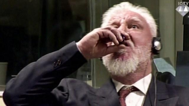 Image result for Former general dies after drinking 'poison'