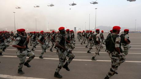 FILE PHOTO Members of Saudi security forces © Ahmed Jadallah