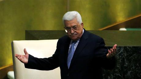Palestinian President Mahmoud Abbas © Eduardo Munoz