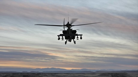 US Army photo of AH-64 helicopter © Staff Sgt. Jeremy Ganz 4th Infantry Division