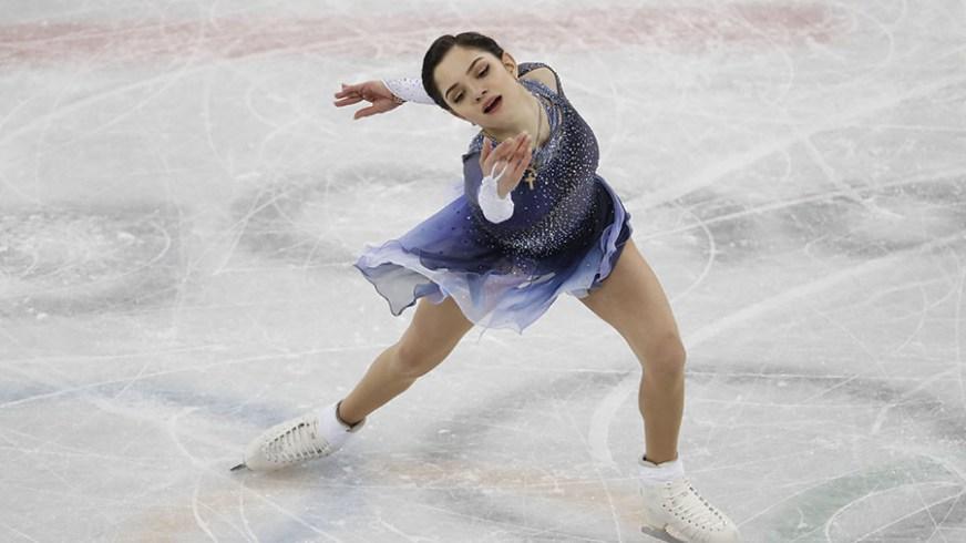 Russian figure skater Medvedeva sets world record in short ...