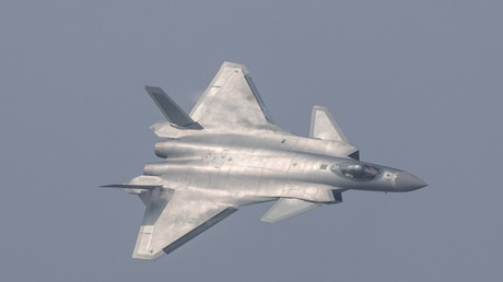 China unveils its J-20 stealth fighter during an air show in Zhuhai, Guangdong Province, China, November 1, 2016. Stringer/Third party