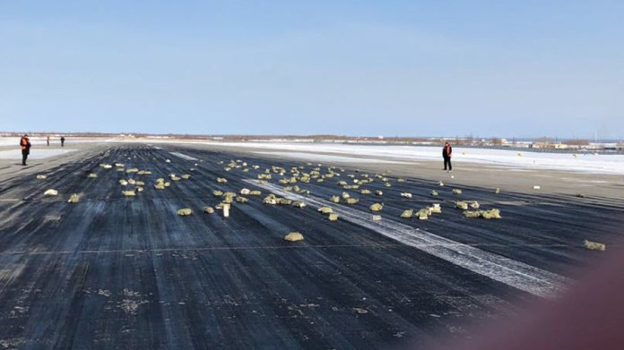 Tons of gold fall from sky in Russian cargo plane blunder (VIDEO, PHOTOS)