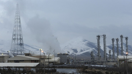 FILE PHOTO. General view of the Arak heavy-water plant in Iran. © Reuters