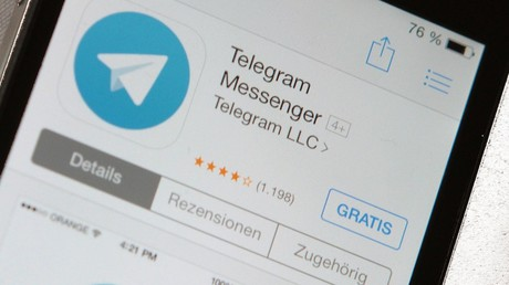 Telegram app screen on smartphone © Schaube/face to face