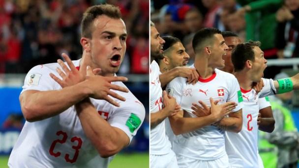 No Fifa Ban For Shaqiri Xhaka Over Eagle Celebrations In Serbia Game Cameroonvoice
