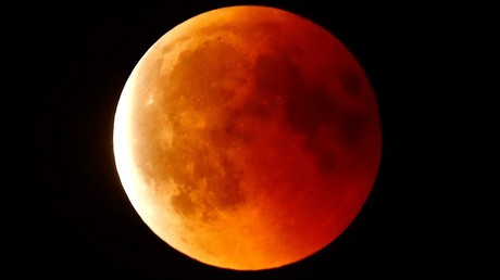 Blood Moon rising: Longest lunar eclipse of the century burns dark red (PHOTO, VIDEO)