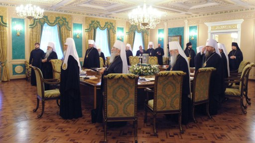 Image for Russian Orthodox Church Cuts Ties With Constantinople Over Ukraine