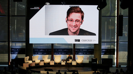5bbe6d8bfc7e934d1a8b45d1 Snowden to speak at Israeli conference – with ex-Mossad deputy chief 'responding'