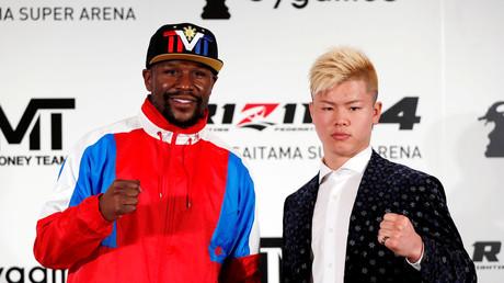 5be0062afc7e93586e8b45b9 Floyd Mayweather Jr. announces NYE fight with Japanese MMA promotion Rizin