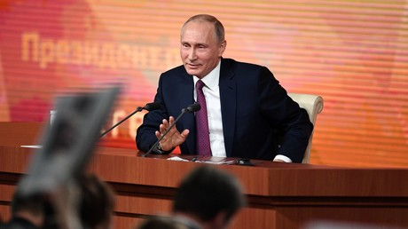 5c1b48bddda4c823698b4641 Putin holds his 14th annual Q&A marathon