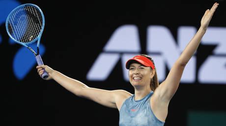 5c419212dda4c86f588b45a2 'It's really rewarding to win the last point': Sharapova knocks out defending Australian Open champ