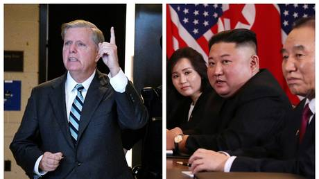 5c78ba1bdda4c8921c8b45d5 'Time to end the nuclear threat': Graham hints at war within hours after Trump-Kim summit stalls