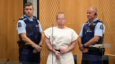 5c8c35a4dda4c8b3408b4600 New Zealand mosque attacker charged with murder