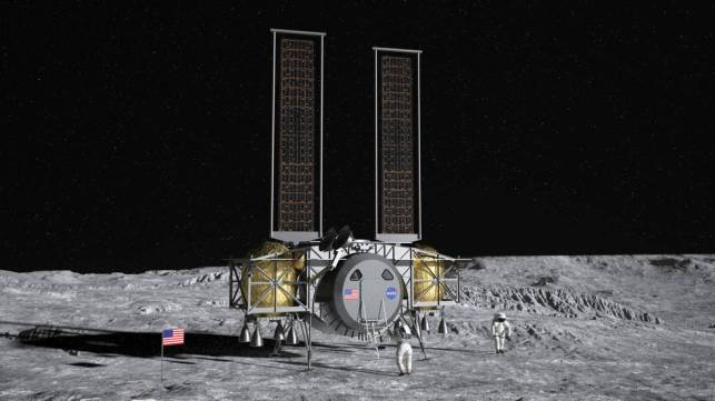 Boeing snubbed as NASA picks 3 lunar lander designs to compete for 2024 manned Moon mission