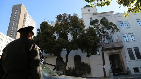 FILE PHOTO. The Chinese consulate in San Francisco. © Liu Yilin / ZUMAPRESS.com via Global Look Press