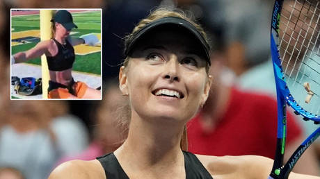 Maria Sharapova has the novelty of not taking part in the 2020 US Open © Instagram / mariasharapova   © Robert Deutsch / USA Today Sports via Reuters