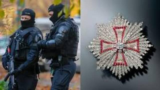 Niemiecka policja aresztowała 3 osoby po zeszłorocznym oszałamiającym napadzie na królewską biżuterię z diamentami w muzeum w Dreźnie