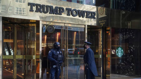 Trump Tower in Manhattan, New York City,  January 20, 2021 file photo.