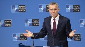 NATO orders warships into Black Sea as bloc's chief calls for Ukraine to be allowed join & stop Russian 'plan' to dominate ex-USSR