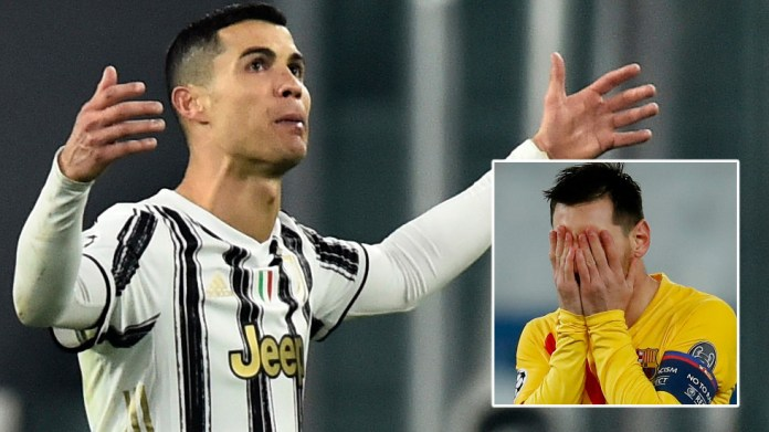 Time's up: Lionel Messi and Cristiano Ronaldo must move on this summer if they really want to win the Champions League again