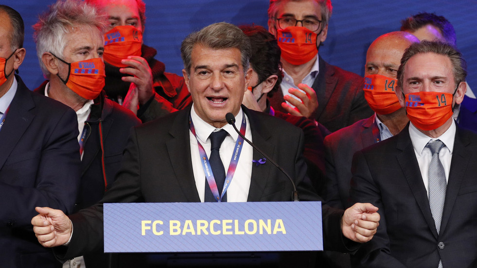 Barca president-elect Joan Laporta 'in race against time' to get €125 MILLION in funds needed to secure position before deadline