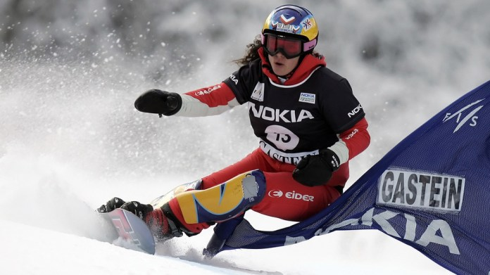Former world champion snowboarder Julie Pomagalski, 40, dies after being 'completely buried' in avalanche in Swiss Alps