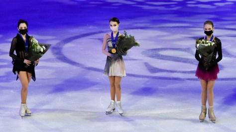 'This just doesn't happen': Joy for 16yo Shcherbakova, Tuktamysheva & Trusova as Russians rule figure skating world champs (VIDEO)