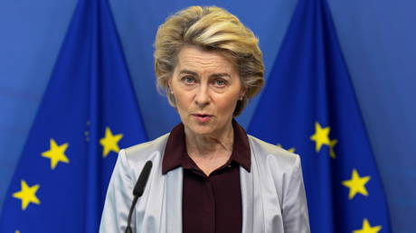 European Commission President Ursula von der Leyen, Brussels, Belgium, November 24, 2020