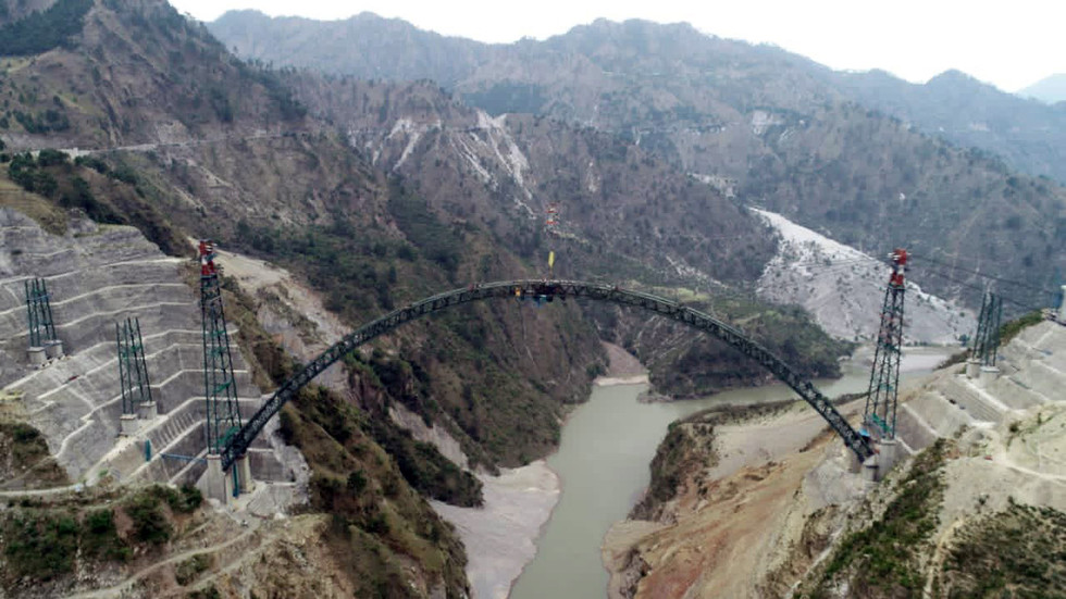 One step closer: India could complete construction of WORLD'S HIGHEST railway bridge by end of year