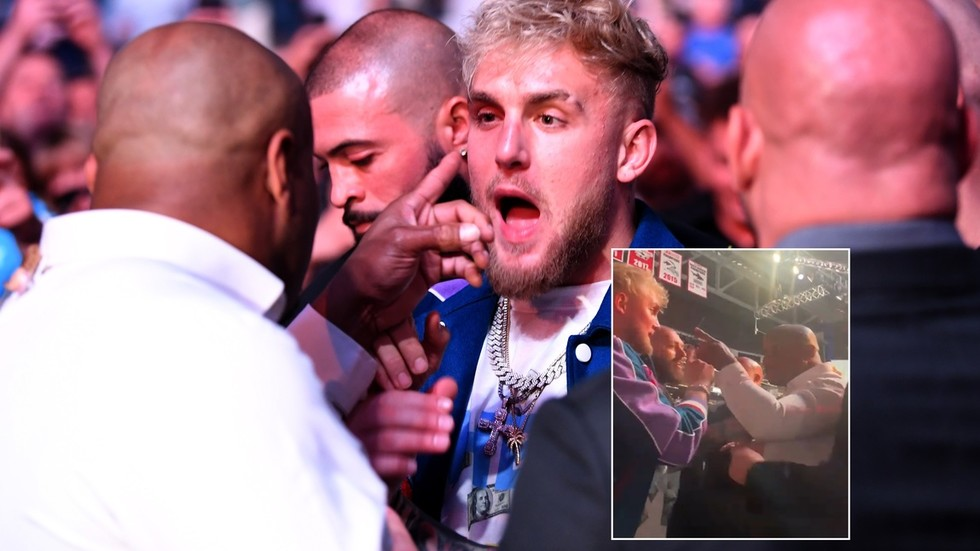 'I'll slap him': Ex-champ Cormier in furious exchange with Jake Paul at UFC 261 as Dana White condemns 'circus' (VIDEO)