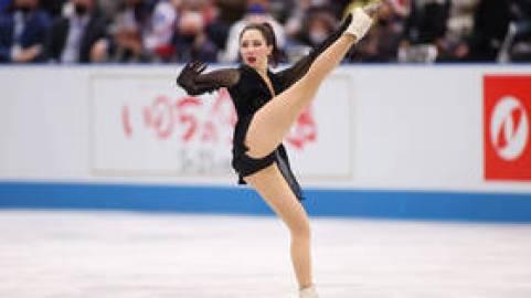 'Sexual artistry': Former ice dancer Anna Semenovich hails Elizaveta Tuktamysheva for 'feminine skating' style