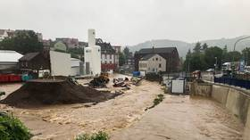 2 dead, 30 missing after deluge floods cities in several German states (VIDEOS)