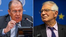Лавров говорит, что глава внешнеполитического ведомства Евросоюза посоветовал ему ВНЕЗАПНО держаться подальше от «нашей» Африки, поскольку он отрицает роль Москвы в наемниках, приглашенных в Мали.